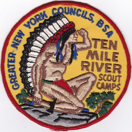 Ten Mile River 1983 Jacket Patch