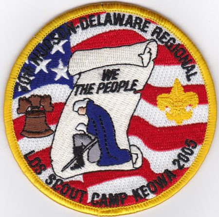Camp Keowa 2005 LDS Scout Camp Pocket Patch