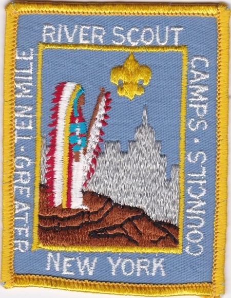 Ten Mile River 1979 Pocket Patch