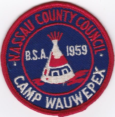 Camp Wauwepex 1959 Pocket Patch
