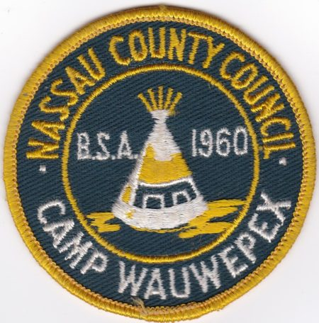 Camp Wauwepex 1960 Pocket Patch