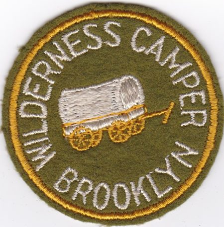 Brooklyn Scout Camp - Wilderness Camper Felt