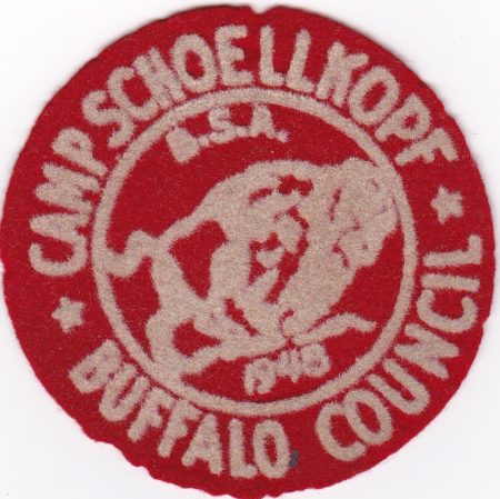 Camp Schoellkopf 1948 Pocket Patch