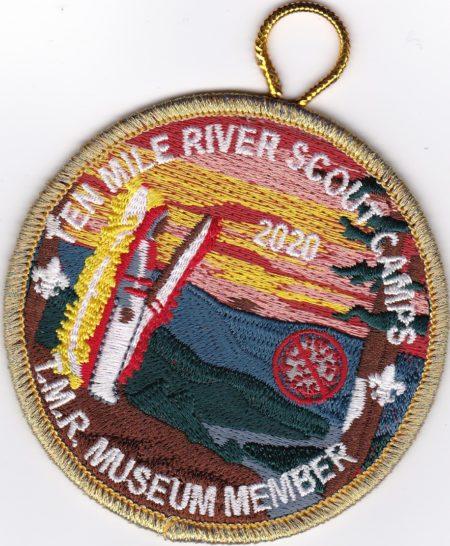 2020 Ten Mile River Scout Camps Museum Member Patch
