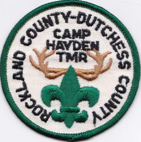 Dark Green Border Undated Camp Hayden Pocket Patch