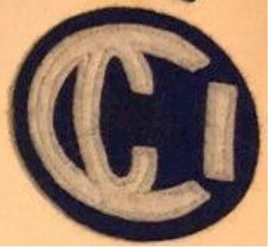 CCI Felt Patch
